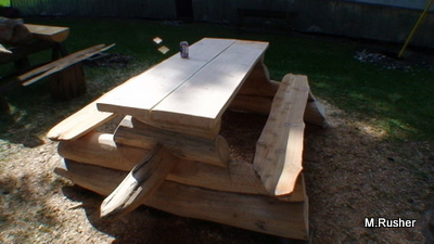 Log Picnic Table Plans Plans Free Download | tame15ght